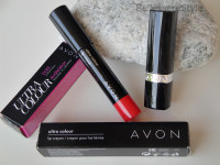 AVON – Ultra Color Bold Lipstick e Lip Crayon