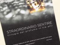 ACCADEMIA del PROFUMO –  Straordinario Sentire: Trilogia del Profumo In Tre Atti – Firenze2016