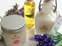 LEPA VIDA – Peeling al Sale & Olio Corpo & Latte Corpo